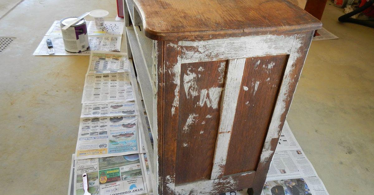 Homemade Chalk Paint Transformation Hometalk