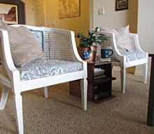 upcycle upholstery chairs craigslist transformation, diy, home decor, painted furniture, reupholster