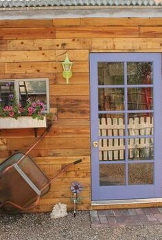 junk garden shed tour, container gardening, crafts, flowers, gardening, outdoor living