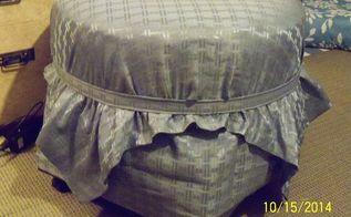 tire into an ottoman diy hometalk. Black Bedroom Furniture Sets. Home Design Ideas