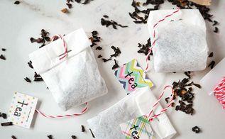 diy tea bags, crafts