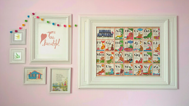 Girls room gallery wall hometalk - Girls bedroom ideas a must have for one and all ...
