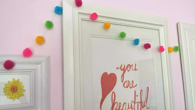 girls room gallery wall bedroom ideas home decor wall decor - Wall Designs For Girls Room