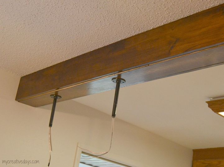Diy kitchen light fixtures hometalk for Diy kitchen light fixtures