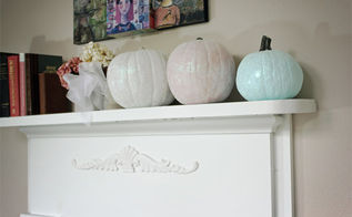 crafts sparkle pumpkin tutorial fall, crafts, seasonal holiday decor