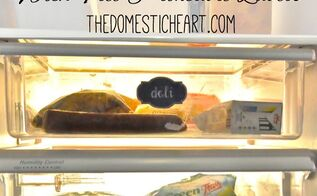 organizing fridge printable labels, appliances, organizing