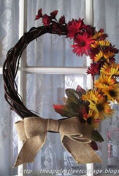 wreath fall budget affordable, crafts, wreaths