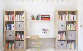 oneroomchallenge playroom makeover, entertainment rec rooms, home decor, organizing, storage ideas