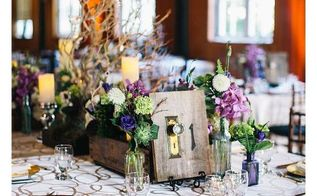 diy rustic wedding reception table numbers, crafts, diy, repurposing upcycling