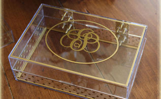 diy jewelry boxes, crafts, home decor, how to, organizing, repurposing upcycling