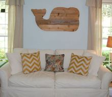 wall decor whale scrap wood, home decor, repurposing upcycling, wall decor, woodworking projects