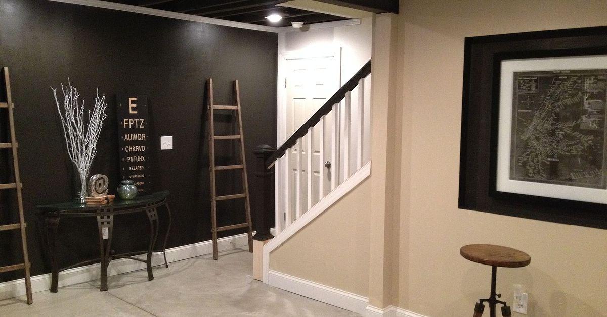 basement ideas remodel progress industrial basement ideas home