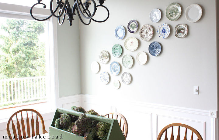 Dining Room Plate Wall Ideas Home Decor