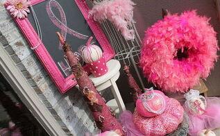 halloween crafts pink pumpkins, crafts, decoupage, repurposing upcycling, seasonal holiday decor