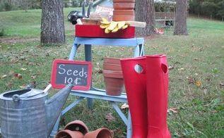 flea market finds for the garden, gardening, repurposing upcycling