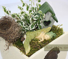 mini fairy garden, crafts