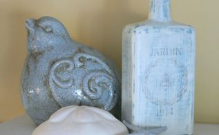 old bottles to new budget friendly decor, chalk paint, crafts, decoupage, home decor, seasonal holiday decor