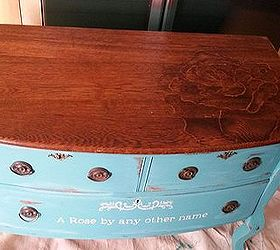 Chalk Paint and Stain-Painted Dresser  Hometalk