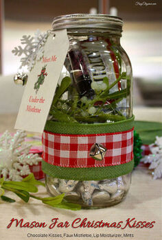 how to mason jar christmas gift kit, christmas decorations, mason jars, repurposing upcycling, seasonal holiday decor