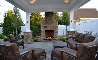 outdoor fireplace ideas, fireplaces mantels, landscape, Outdoor Fireplace