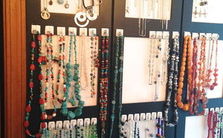 recycled photo room divider to jewelry display, organizing, repurposing upcycling