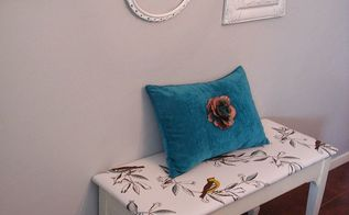 how to create a little birdie bench, home decor, repurposing upcycling