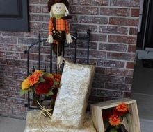 fall porch decor ideas, home decor, seasonal holiday decor