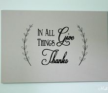 how to make thanksgiving wall art canvas text transfer, crafts, dining room ideas, wall decor