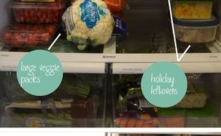 simple tricks to free up space in your fridge, appliances, cleaning tips, organizing