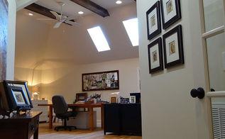 the artist s studio, Beams sky lights and lighting
