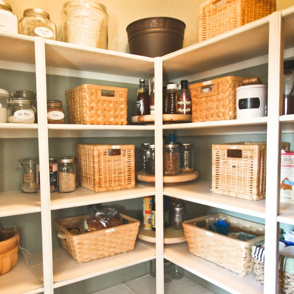 How to make lazy susans for less hometalk for Cost to build a pantry