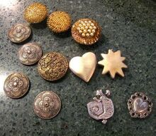 changing button covers to magnets for embellishments, crafts, lighting, repurposing upcycling