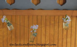 how to make bottle garland, crafts, how to
