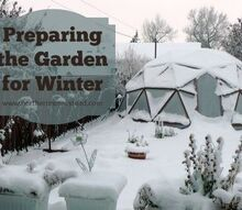 how to prepare the garden for winter, composting, gardening, go green