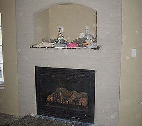 Carved Concrete Fireplace Redo Tips | Hometalk