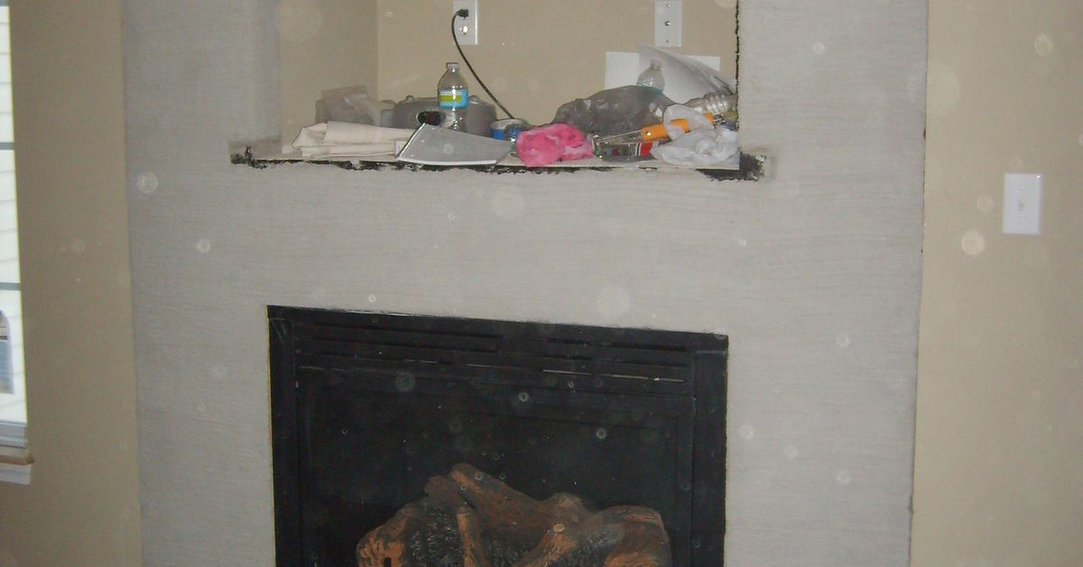 Carved Concrete Fireplace Redo Tips Hometalk