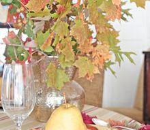 thanksgiving tablesetting ideas, seasonal holiday decor, thanksgiving decorations