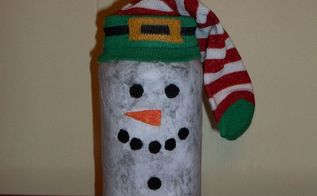 how to make mod podge snowman luminary, christmas decorations, crafts, decoupage, seasonal holiday decor
