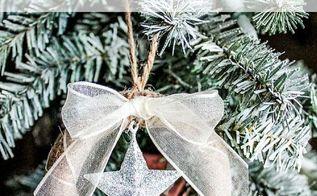 sparkling star mason jar lid ornament, christmas decorations, crafts, mason jars, seasonal holiday decor