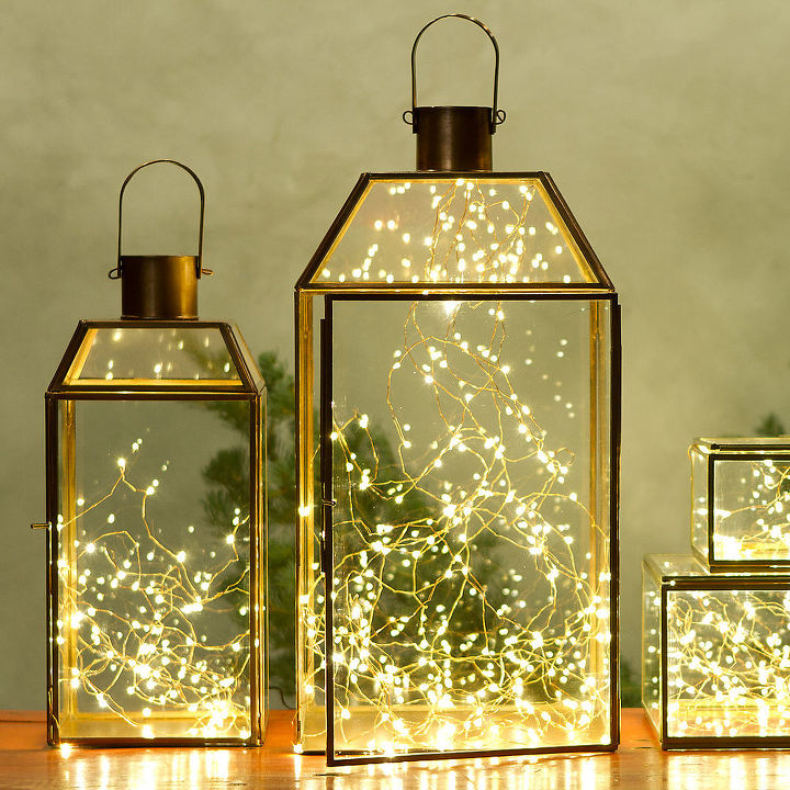 Home Decor Lights inspiration to decorate for the holidays Decor Ideas With String Lights Home Decor Lighting