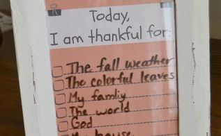 how to make meal time thankful notes, crafts, seasonal holiday decor, thanksgiving decorations