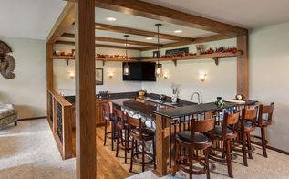 cedarburg family room remodel, home decor, home improvement
