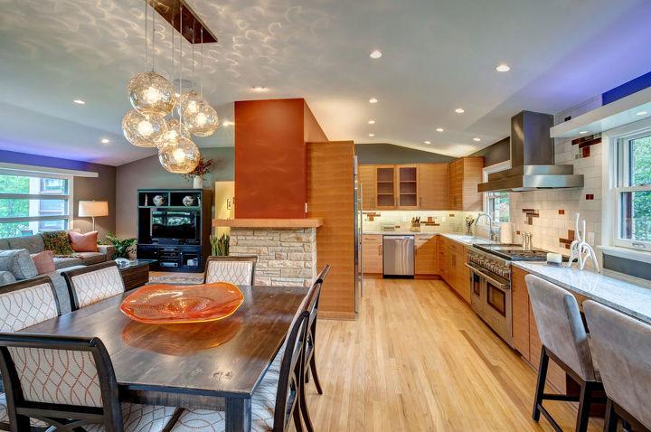 brookfield midcentury modern interior remodel home improvement