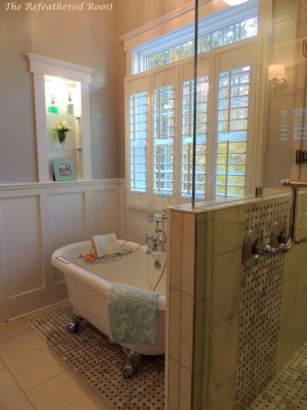 Master bath remodel idea hometalk for Bathroom designs kerala style