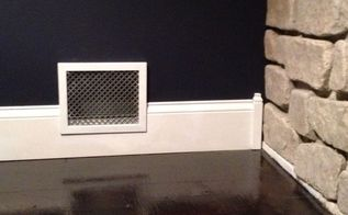 how to upgrade of wall vent with a picture frame, diy, home improvement, hvac, Picture frame vent Looks so much nicer