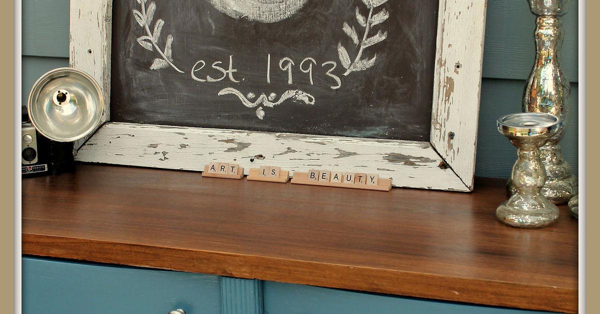 Paint Makeover Idea For A French Blue Dresser Hometalk