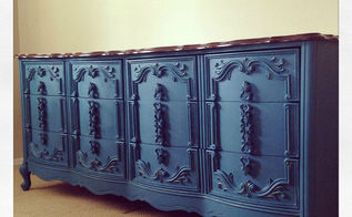 paint makeover for callicott dresser, chalk paint, diy, home decor, painted furniture, repurposing upcycling