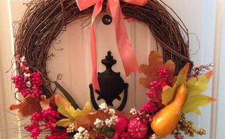 wreaths for thanksgiving and christmas ideas, crafts, wreaths
