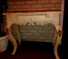 no nails in antique piece advice, painted furniture, repurposing upcycling