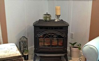 how to make a pellet stove mantle, diy, fireplaces mantels, woodworking projects